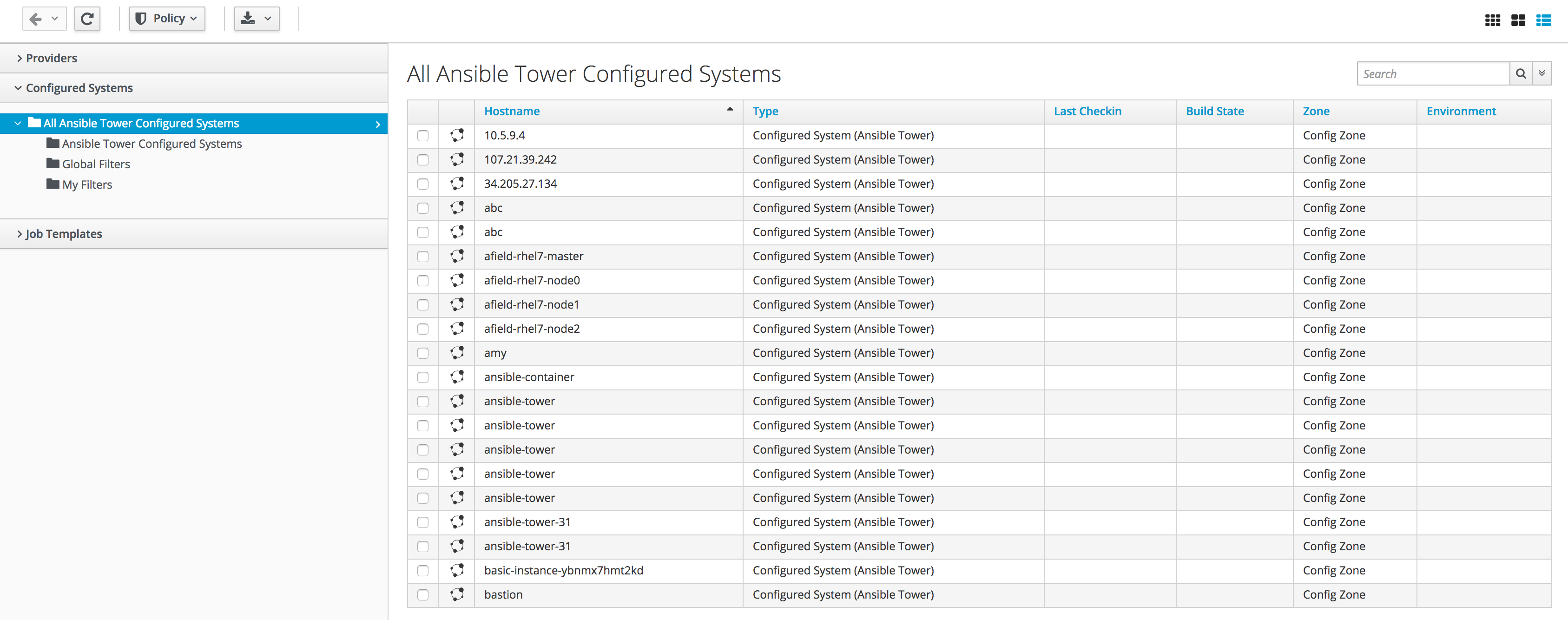 Exercise 1 20 - Ansible Tower   Red Hat   Public Sector